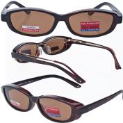 Slim Jane Mini Over-Prescription Sunglasses Copper Bronze Polarised Lenses