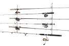Rack'Em Horizontal 6-Rod Fishing Rod Rack