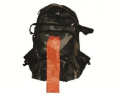 Guardian Survival Gear BCM Camo Backpack with Orange Pull-Out Flag