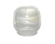 Stansport Replacement Glass Globe for Small Hurricane Lantern