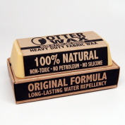 Extra-Large Fabric Wax : All Natural Water Repellent by Otter Wax : 150ml Bar
