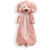 Spunky Pink Puppy Dog Huggybuddy Blanket by Gund Baby 40.6cm