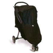 Protect a Bub Universal 4 Season Stroller Weather Shield - Twin - Black