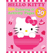 Hello Kitty 224 Page Color and Sticker Activity Book