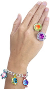 Color Splasherz Rings 'n Charms