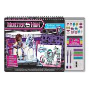 Monster High Monster Fashion Sketch Portfolio Set