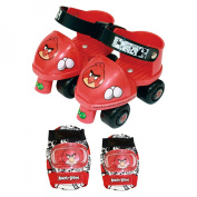Angry Bird Toy Skate Combo with Adjustable Knee & Elbow Pads