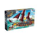 Invincible Pirate Ship Construction Set by BanBao 850 pcs 5+