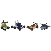 KRE-O Transformers Micro-Changers Combiners Decepticon Bruticus Set