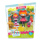 Mini Lalaloopsy Littles Sisters Dolls - Specs Reads-a-lot and Bea Spells-a-lot