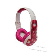 Maxell Safe Soundz Head Phones - Pink/White