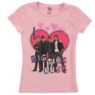 I Love Big Time Rush Pink Short Sleeve T-Shirt - Medium