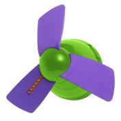 Lockers 101 Light Up Cool Down Ceiling Fan - Purple/Lime