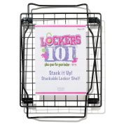 Lockers 101 Stack It Up Shelf - Black