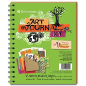 Art Journal - Lime Green