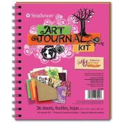 Art Journal - Hot Pink