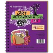 Art Journal - Purple