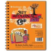 Art Journal - Orange