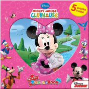 Minnie Mouse Puzzle Book