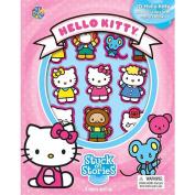 Hello Kitty Stuck On Stories Book
