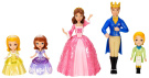 Disney Sofia The First - Sofia and Royal Family