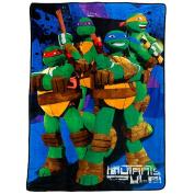 Nickelodeon Teenage Mutant Ninja Turtles Plush Blanket