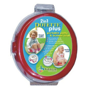 Potette Plus Travel Potty - Red