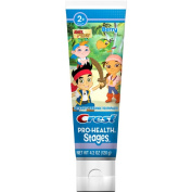 Crest Pro Health Stages Jake & the Neverland Pirates Anticavity Fluoride Toothpaste, Berry, 120ml