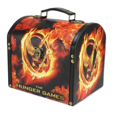The Hunger Games Vintage Carrying Case - Mockingjay Fire