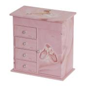 Mele & Co. Callie Girl's Musical Ballerina Jewelry Box