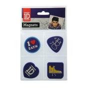 1D Laser Magnets 4-Pack - Zayn