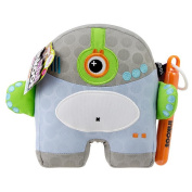 Inkoos Mini Plush Cyclops with Markers - Blue/Grey