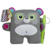 Inkoos Mini Plush Panda with Markers - Grey