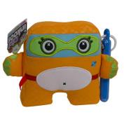 Inkoos Mini Plush Bear with Markers - Orange