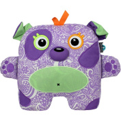 Inkoos Glo Glo Glow in the Dark Pet Plush - Purple Dog
