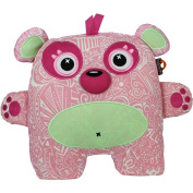 Inkoos Glo Glo Glow in the Dark Pet Plush - Pink Bear