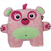 Inkoos Glo Glo Glow in the Dark Pet Plush - Pink Bear