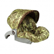 Baby Bella Maya Infant Car Seat Cover - Caramel Apple Swirl
