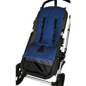 Tivoli Couture Memory Foam Stroller Liner - Denim