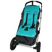 Tivoli Couture Memory Foam Stroller Liner - Teal