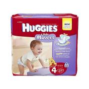 Huggies Little Movers Jumbo - Size 4 - 27ct