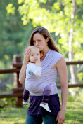 Moby Wrap Baby Carrier - Lilac