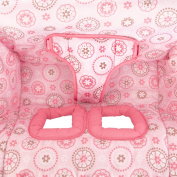 Bright Starts Comfort & Harmony Cosy Cart Cover, Pink Morocco