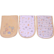 BabyShop Neutral 3Pk Terry Burpcloth