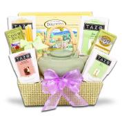 Easter Basket-Zen Tea Tray Gift Basket