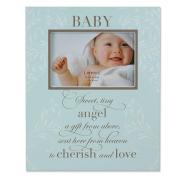 Baby Plaque Frame 15.2cm x10.2cm  - Blue