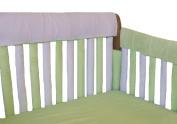 Go Mama Go Teething Guard 76.2cm x 30.5cm  - White/Green