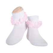 BabyShop Girls' Tutu Lace Anklet