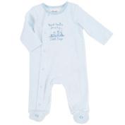 Little Me Baby-Boys Newborn Thank Heavens Footie