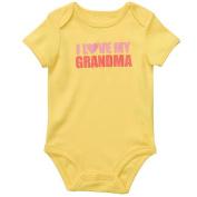 Carter's Girls 'I Love My Grandma'  Bodysuit